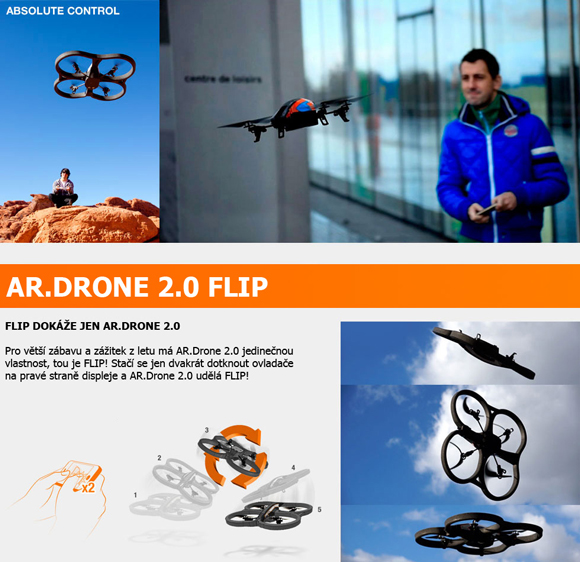 ar drone 2.0 flight recorder instructions